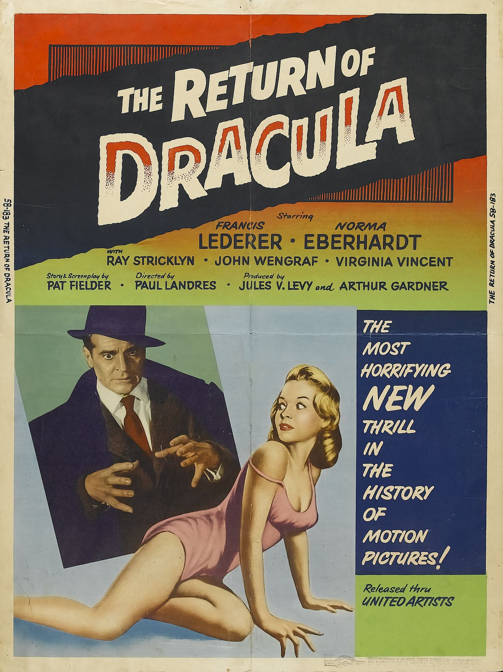 The Return of Dracula (1958) | savagehippie