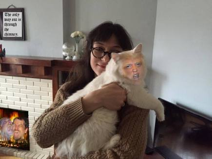 me_ann_david_trump_cat